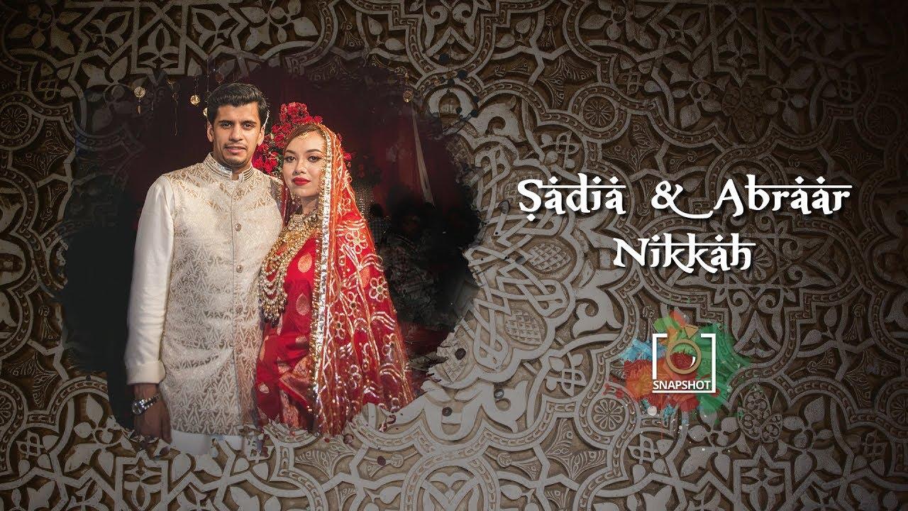 Snapshot - Sadia & Abrar Nikkah